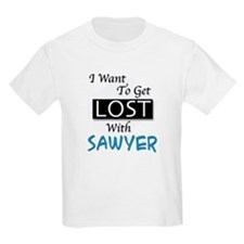 Get Lost With Sawyer Kids T-Shirt
