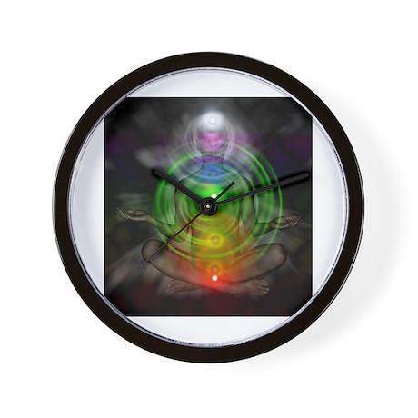 Meditation.Chakras Wall Clock