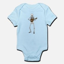 Skeleton Mandolin Infant Bodysuit
