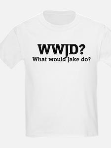 What would Jake do? Kids T-Shirt
