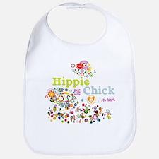 Hippie Chick at Heart Bib