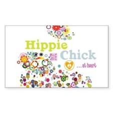 - Hippie Chick ... at heart Decal