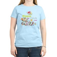 - Hippie Chick ... at heart T-Shirt