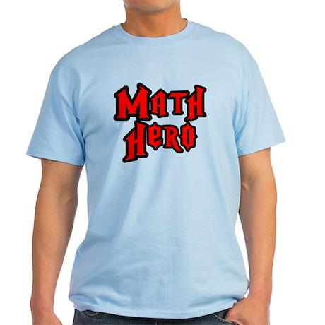Math Hero Light T-Shirt
