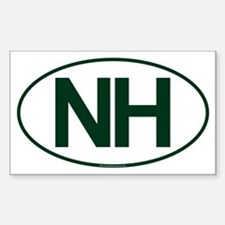NH Oval Decal