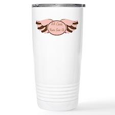 RA Chicks NGU Pink / Brown Ge Travel Mug