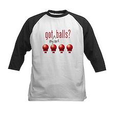 Got (Big Red) Balls? Kids Baseball Jersey