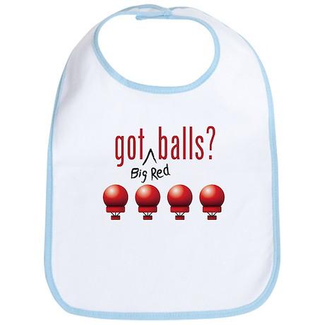 Got (Big Red) Balls? Bib