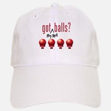 Got (Big Red) Balls? Baseball Baseball Cap