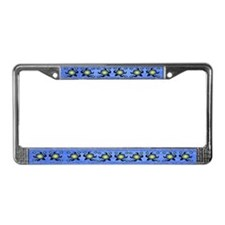 Sun Turtles License Plate Frame