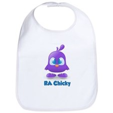 RA Purple Cute Chicky Bib