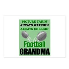 FOOTBALL GRANDMA Postcards (Package of 8)