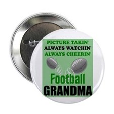 "FOOTBALL GRANDMA 2.25"" Button"