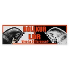 Rollkur vs. LDR? Bumper Sticker