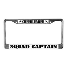 Cheeleader Squad Captain License Frame