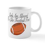 Girls & Football Mug
