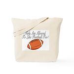 Girls & Football Tote Bag