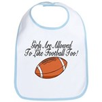 Girls & Football Bib