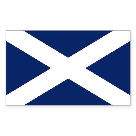Scottish Flag Auto Sticker/Decal (10 pk)