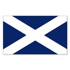 Scottish Flag Auto Sticker/Decal (10 pk)