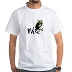 Wise White T-Shirt