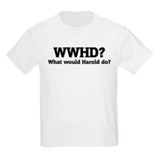What would Harold do? Kids T-Shirt