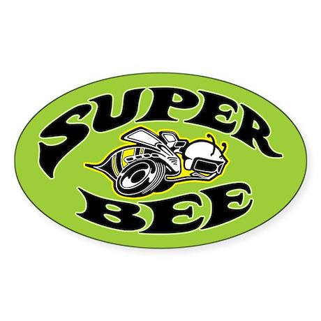 Super Bee Sticker (Oval)