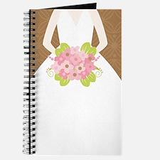 Brown Bride Wedding Journal