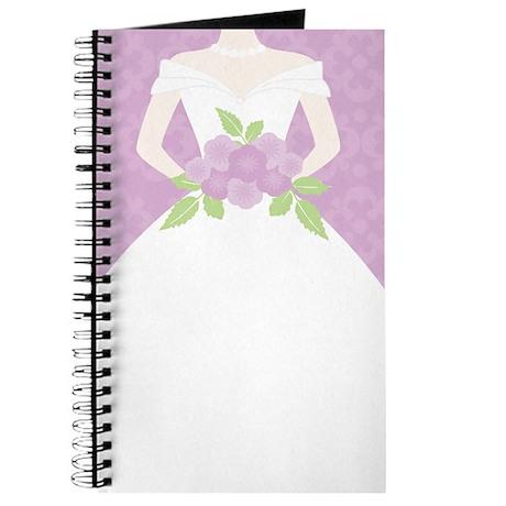 Purple Bride Wedding Journal