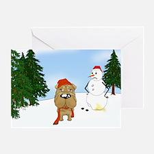 Shar-Pei Holiday Greeting Card