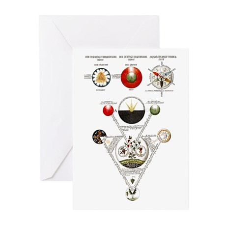 Alchemy Greeting Cards (pk Of 20)