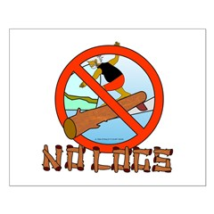 NO LOGS Posters