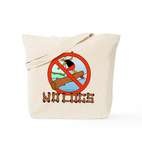 NO LOGS Tote Bag