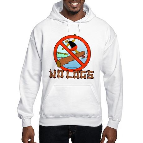 NO LOGS Hooded Sweatshirt