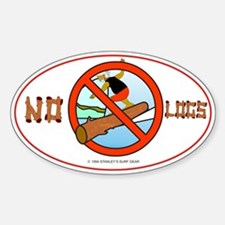 NO LOGS Decal