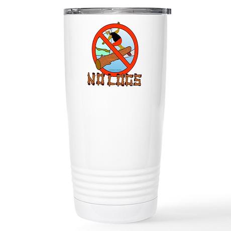 NO LOGS Stainless Steel Travel Mug