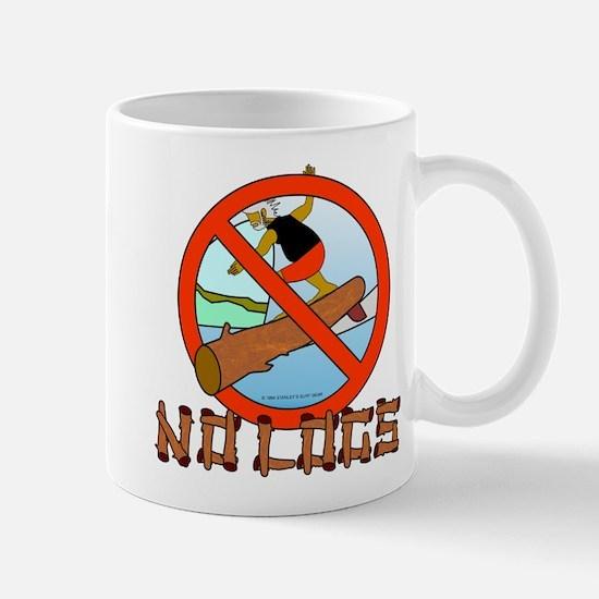 NO LOGS Mug
