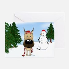 Great Dane Holiday Greeting Cards (Pk of 20)