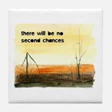 Climate Change Tile Coaster