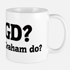 What would Graham do? Small Small Mug