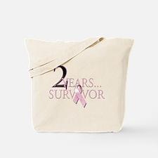 2 Year Breast Cancer Survivor Tote Bag