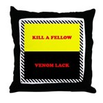 Coral Snake Poem Throw Pillow