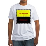 Coral Snake Poem Fitted T-Shirt