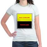 Coral Snake Poem Jr. Ringer T-Shirt
