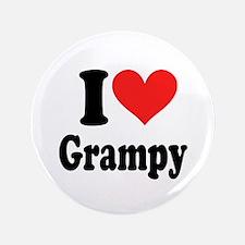 """I Love Grampy: 3.5"""" Button"""