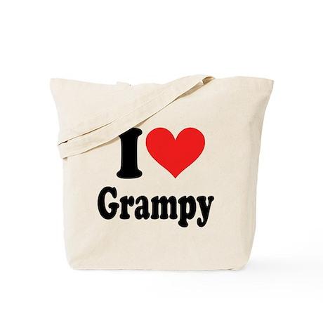 I Love Grampy: Tote Bag