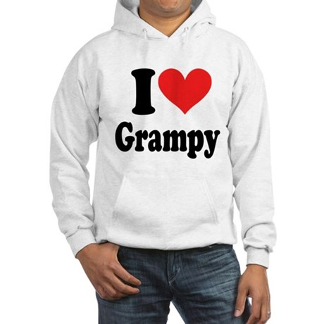 I Love Grampy: Hooded Sweatshirt