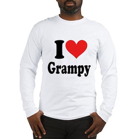 I Love Grampy: Long Sleeve T-Shirt