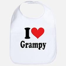 I Love Grampy: Bib