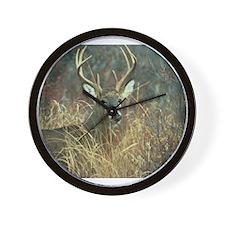 Cute Deer hunting Wall Clock